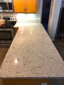 Showing Nuvo Calgary cheap granite and quartz countertops installation
