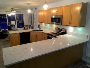 image of nuvo stones granite and quartz countertops installed