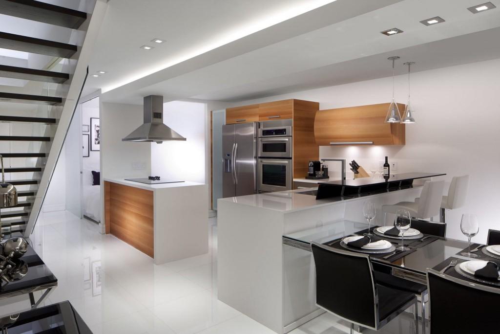 triangle kitchen layout image
